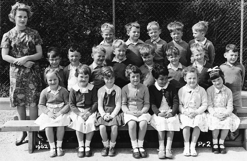 Khandallah School Primer 2 1962 - click on image for larger picture