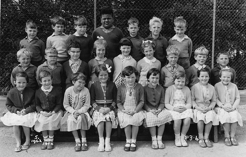Khandallah School Primer 3-4 1962 - click on image for larger picture