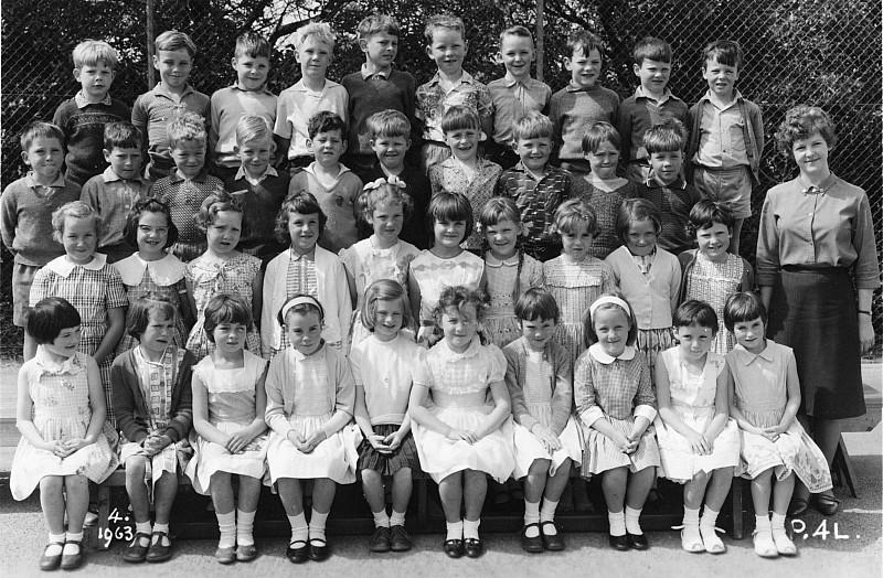 Khandallah School Primer 4 1963 - click on image for larger picture