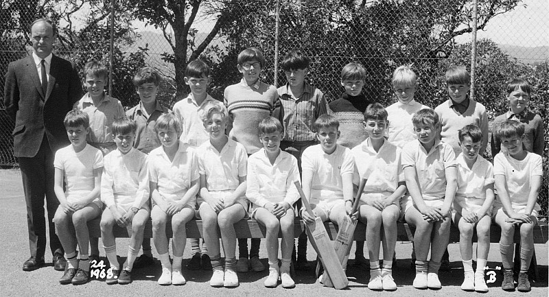 Khandallah School Cricket1968 - click on image for larger picture