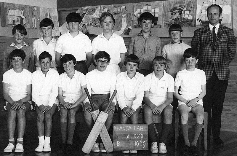 Khandallah School Cricket1969 - click on image for larger picture