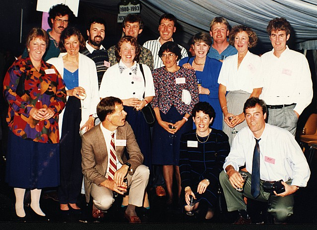Khandallah School Reunion 1993 - click on image for larger picture